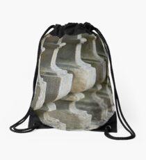 Stone pillars Drawstring Bag