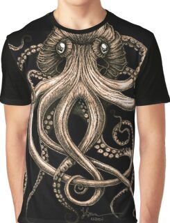 Bronze Kraken Graphic T-Shirt