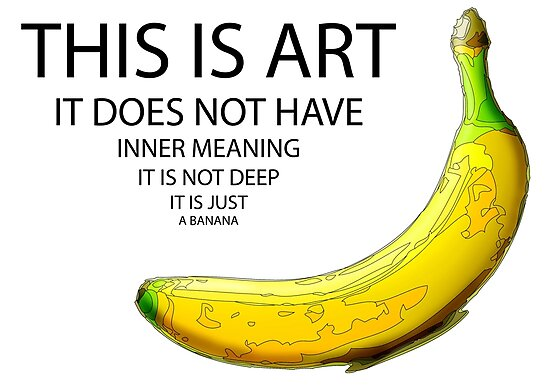 The Really Quite Dull Banana by Hannah Gledhill