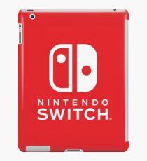 NINTENDO SWITCH LOGO SHIRT / MUG iPad Case/Skin