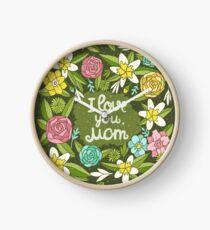i love you, Mom Clock