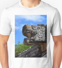Chichen Itza Mexico Kukulkan Pyramid 7 World Wonders Kukulkan Unisex T-Shirt