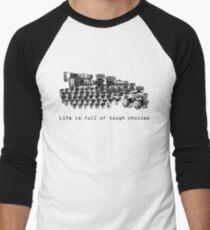 Choices Men's Baseball ¾ T-Shirt