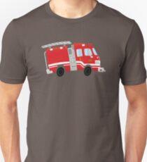 Cute Firetruck Unisex T-Shirt