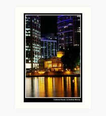 Customs House Art Print