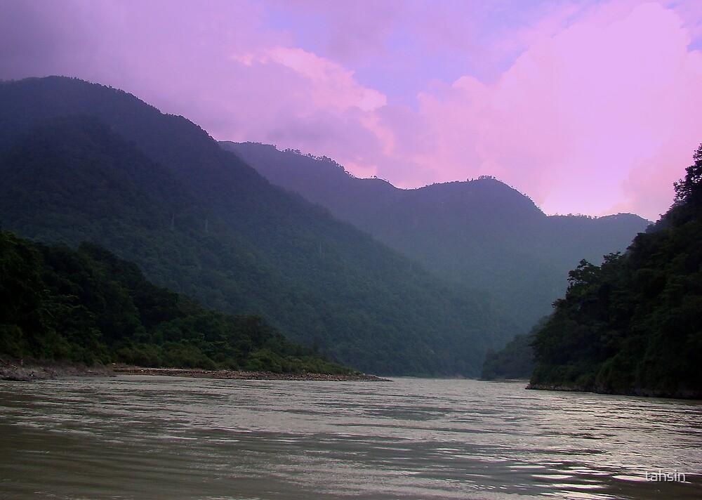 Ganges at Rishikesh by tahsin