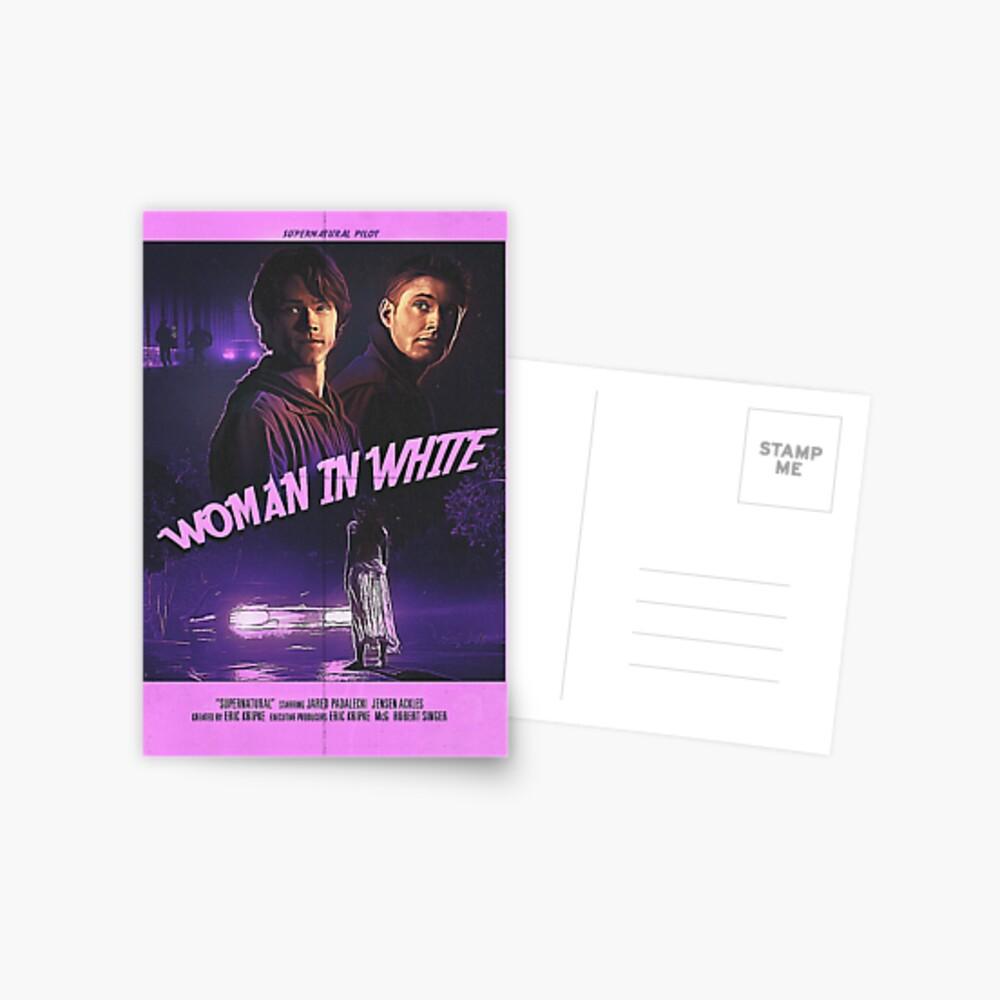 Cartel piloto sobrenatural Postal