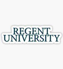 Regent University Sticker