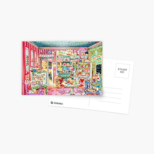 The Little Cake Shop Postcard