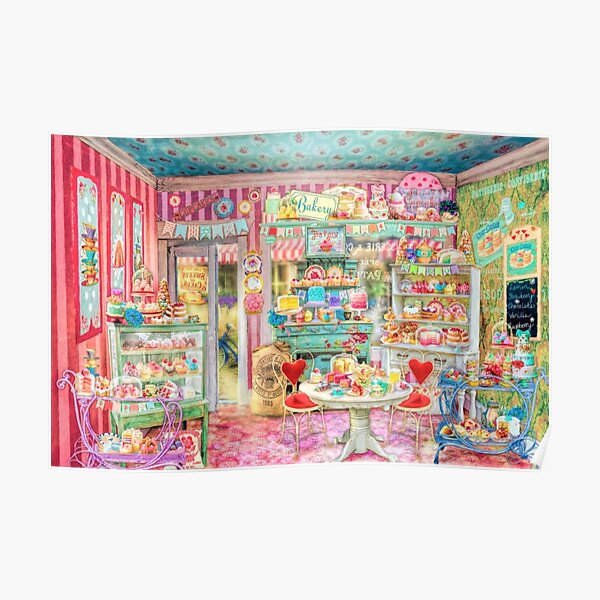The Little Cake Shop Poster