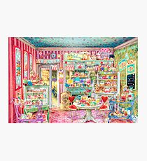 The Little Cake Shop Photographic Print
