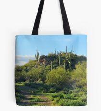 Desert Scenery  Tote Bag