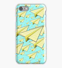 Paper Airplane 10 iPhone Case/Skin