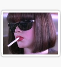 amy blue doom generation / rose mcgowan Sticker