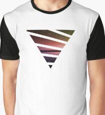 Triangle Sunset Graphic T-Shirt