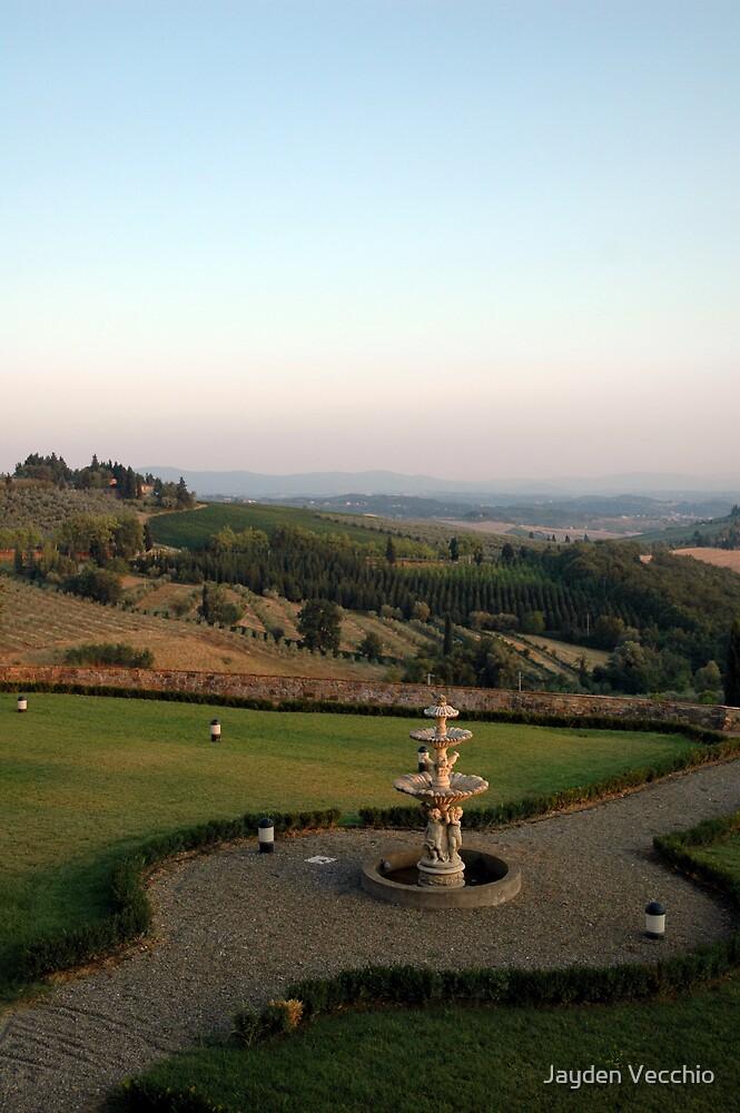 Sunset over Tuscany by Jayden Vecchio