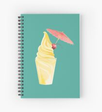 Dole Whip Float Spiral Notebook