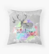 To whatever end Throw Pillow