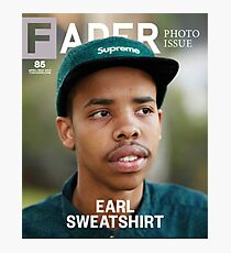 Earl Sweatshirt Photographic Print