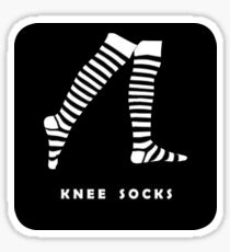 Knee Socks - Arctic Monkeys Sticker