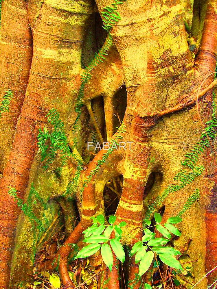 Tree Stump by FABART