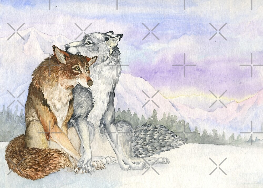 Arctic Werewolves by LauraGarabedian