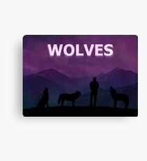 Wolves - Kanye West Canvas Print