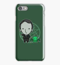 HP Lovecraft and Friend iPhone Case/Skin
