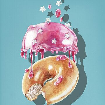 Space Doughnut by jamesormiston