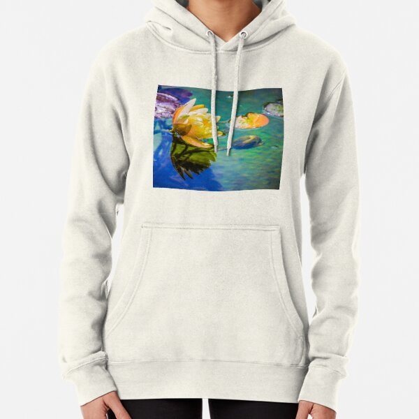 Water lily Pullover Hoodie