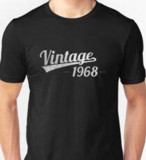 Vintage 1968 Unisex T-Shirt
