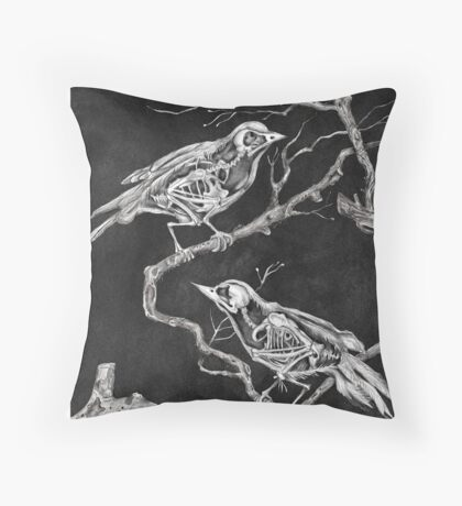 Olvidos Throw Pillow