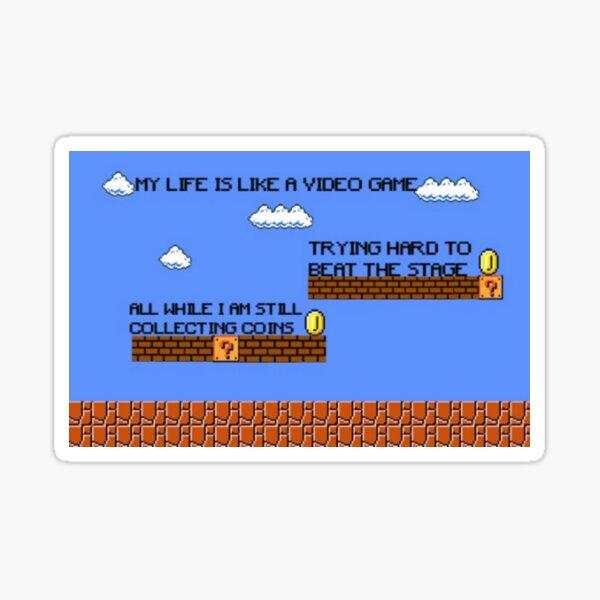 Video Game Lyrics   Sticker