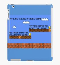 Video Game Lyrics   iPad Case/Skin