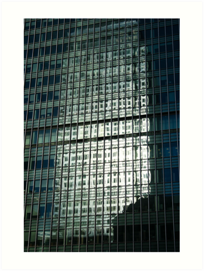 Reflected tower by Andrew O'Hara
