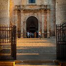 Entrance to Catedral de San Gervasio by Yukondick