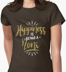 Happy Noni Shirt Women's Fitted T-Shirt