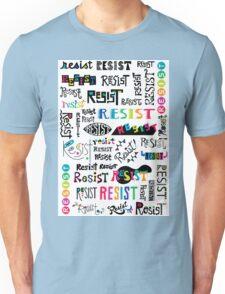 resist them white T-Shirt