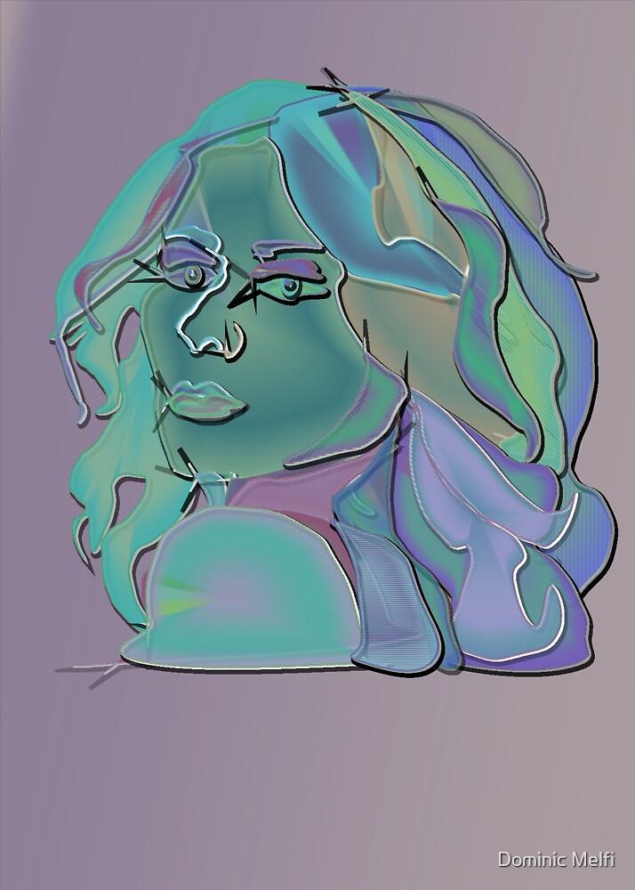 Girl in Blue by Dominic Melfi
