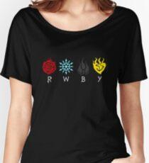Team RWBY Logos Women's Relaxed Fit T-Shirt