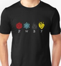 Team RWBY Logos Unisex T-Shirt