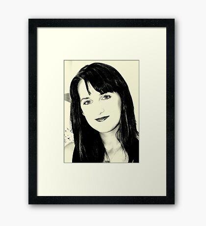 C.C. Framed Print