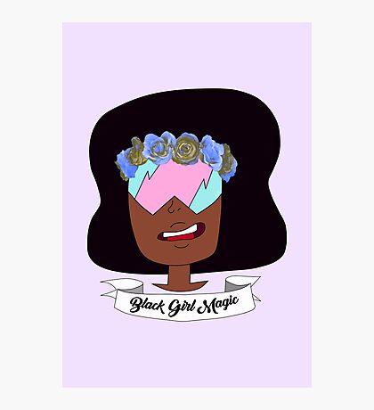 Black Girl Magic Photographic Print