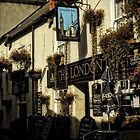 London Inn, Padstow by hans p olsen