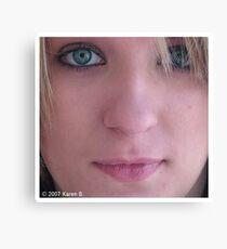 Headshot Canvas Print