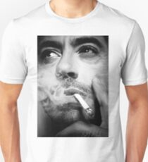 Robert Downey Jr. Digital Portrait Unisex T-Shirt
