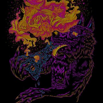 Trippy Wolf V3 by BobyGates