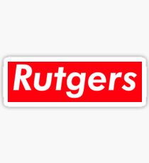 Rutgers Supreme Sticker