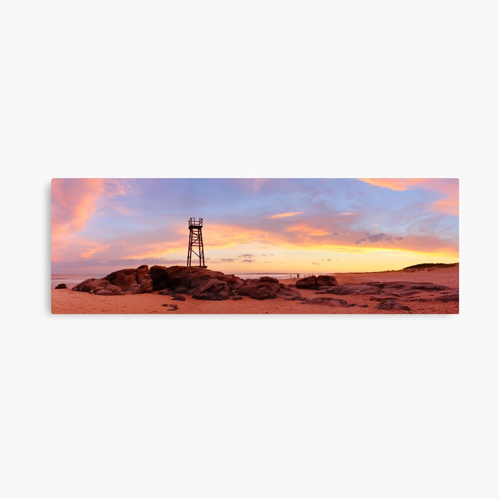 Redhead Beach Sunset, Newcastle, New South Wales, Australia Canvas Print