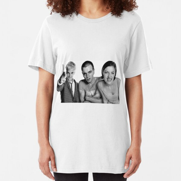 Trainspotting Film T-Shirt-Danny Boyle British comédie noire imprimé
